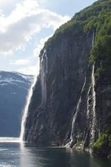 Norwegian Waterfall (chumlee10) Tags: fjord norway geiranger waterfll nature
