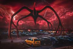 Stranger things (petrovicka95) Tags: photoshop manipulation stranger things digital art edit tv show netfilx storm clouds moody