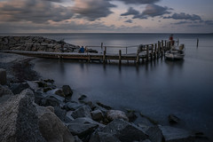 Rügen - day end (Rafael Zenon Wagner) Tags: langzeitbelichtung le ostsee baltic sea felsen rocks germany deutschland blauestunde bluehour evening abend d810 sigma 35mm