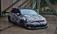(Uno100) Tags: volkswagen vw golg tuning abt gti r 4 5 6 7 gtd golf volksstyle weeze 2019 wrap military base british germany volk style
