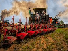 Plowing Time (James Korringa) Tags: steam engine tractor buckley michigan farm equipment explore