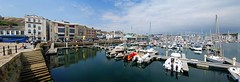 The Barbican at Plymouth large panorama (WISEBUYS21) Tags: barbican panorama number shots harbour plymouth historic mayflower america sutton waterfront reflection reflections boat boats pub pubs steps jetty museum sir francis drake spanish armada hoe wisebuys21 sailor sailors pirate pirates smuggler still water salt devon shops restaurants city history heritage cobbled streets drakes fort cream tea