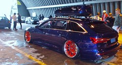 (Uno100) Tags: s 6 blue red audi avant volksstyle weeze airport 2019 new