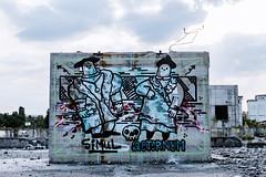 SIMUL AETERNUM (eleuro_eleuro) Tags: graffiti streetart urban urbanism urbanfotography art street muralism