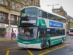 East Coast Buses 20003 (SJ18NFT) - 16-08-19 (peter_b2008) Tags: eastcoastbuses lothianbuses volvo b5tl wrightbus wright eclipsegemini3 20003 sj18nft buses coaches transport buspictures
