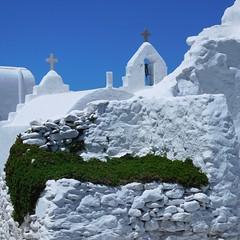 mykonos (gerben more) Tags: mykonos cross church greece white building