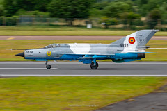 Romanian MiG-21 LanceR C 6824 (Mark_Aviation) Tags: romanian mig21 lancer c 6824 fishbed mig 21 romania air force soviet russian jet afterburner mikoyan fast military loud supersonic mach 1 2