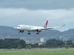 G-VLUX (Gary Kenney Aviation) Tags: gvlux airbus a350 a3501000 a3501041 a3501 virgin atlantic glasgow airport landing airplane