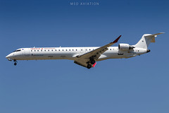 Bombardier CRJ1000 EC-JZU Air Nostrum (msd_aviation) Tags: barcelona barcelonaelprat airport landing aviation spotting airnostrum crj1000 bombardier lebl bcn