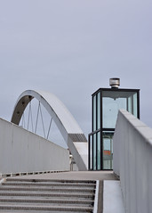 Hoge Brug (Alexander Adema) Tags: hoge brug maastricht limburg nederland netherlands bridge maas nikon d7100 architecture minimal