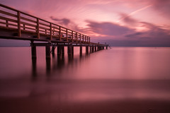 Peace (Michel Antoni (swe)) Tags: longtimeexposure fujifilmxpro1 fujifilm bridge fujifilmxf182 calm tranquility landscape sea