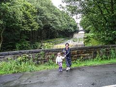 Anglezarke waterfall (AffieFilms) Tags: waterfall rain water family landscape rainy anglezarke rivington