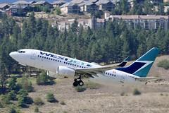 Boeing 737 C-GWSO WestJet (Jarco Hage) Tags: boeing 737 cgwso westjet dash byjarcohage aviation airplane airport canada revelstroke cyrv air