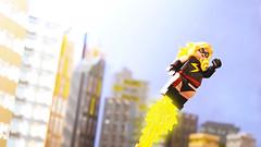 The Marvelous Miss Danvers (Andrew Cookston) Tags: lego marvel comics msmarvel caroldanvers vers captainmarvel editing photoshop custom minifig lab9minifigures lab9 macro toy still life photography andrew cookston andrewcookston