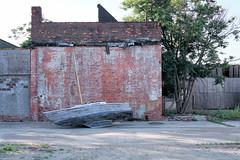 abandoned sailboat (chuckh6) Tags: sailboat urban abandoned