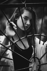 東京 Tokio - 17 (Lt. Sweeney) Tags: portrait portraiture ritratto retrato mirada look intenselook gaze ojos yeux eyes bn bw blancetnoir blackandwhite blancoynegro monochrome monocromo monocromático mono sincolor desaturado contraste reja dama lady señorita muchacha girl teenager veinteañera belle bella belleza guapa cool cute precious preciosa beau beautiful joli gorgeous canon adobephotoshopcc adobelightroomclassiccc gente airelibre framing frame cliché mood luznatural sinflash