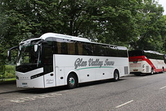 GLEN VALLEY TOURS, WOOLER ER15GVT (bobbyblack51) Tags: glen valley tours wooler er15gvt volvo b11r jonckheere shv edinburgh 2016
