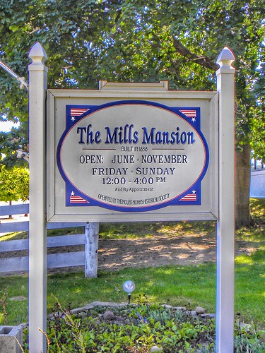 Mount Morris  - New York  - The Mill Mansion - Historical Society -