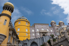 Pena Palace (www.chriskench.photography) Tags: castles europe sintra xt2 18135 travel buildings castle architecture wwwchriskenchphotography fujifilm portugal lisboaregion yellow