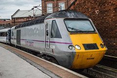 43299 (+290), Doncaster (JH Stokes) Tags: doncaster eastcoastmainline ecml 43299 class43 hst highspeedtrain east coast trains trainspotting tracks transport railways photography publictransport