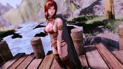 Kali (SIND ENB Test) (Calithea's Tree House) Tags: skyrim sexy calithea lithren kali redhead elf sind enb