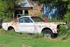 caddo oklahoma mustang (reluctant_paladin) Tags: rusty old feral decay antique oklahoma mustang pickup truck
