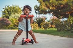 Freestyle (u c c r o w) Tags: limonlu girl scooter child children portrait cute little turkey turkish mersin erdemli