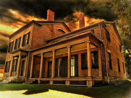 Mount Morris - The Mill Mansion - Historical Society -