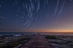 A beautiful clear night in the town of Yzerfontein, Westcoast of South Africa. Christine (Christine's Phillips (Christine's observations) - ) Tags: green dassenisland yzerfontein southafrica startrails stars milkyway christinephillips time timelapse dusk dawn fujifilm fuji film xt2