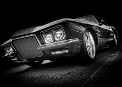 RIVIERA (Dave GRR) Tags: buick riviera 1965 classic supercar old vintage retro olympus toronto monochrome mono blackandwhite
