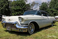 1957 Cadillac Coupe de Ville (robtm2010) Tags: sturbridge massachusetts usa newengland eastcoast canon canon7d 7d milltown2019 carshow 1957 cadillac gm generalmotors car automobile auto motorvehicle vehicle coupedeville