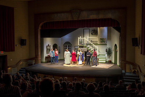 Scene from play at the Peacock Performing Arts Center