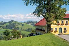 (kuuan) Tags: manualfocus mf apsc ricohgxr mmodule mrokkorf240mm mrokkor f240mm landscape mostviertel oetscher bauernhaus farmhouse