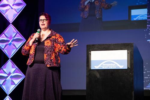 Heidi Waterhouse at devopsdays Minneapolis 2019