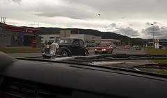1950 W136 Mercedes Benz 170 S, 1973 Ford Taunus TC 1600 L - IMG_6979-e (Per Sistens) Tags: cars thamsløpet thamsløpet19 orkladal veteranbil veteran mercedes mercedesbenz w136 ford taunus tc w128 volkswagen t1