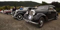 1950 W136 Mercedes Benz 170 S, 1951 W191 Mercedes Benz 170 Sb - IMG_6966-e (Per Sistens) Tags: cars thamsløpet thamsløpet19 orkladal veteranbil veteran mercedes mercedesbenz w136 w191