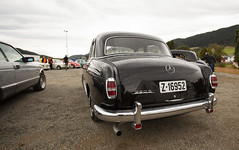1959 W128 Mercedes Benz 220 S - IMG_6963-e (Per Sistens) Tags: cars veteran veteranbil orkladal thamsløpet thamsløpet19 mercedes mercedesbenz w128