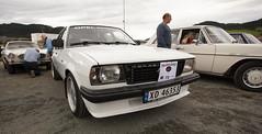 Opel Ascona B 2.0 - IMG_6955-e (Per Sistens) Tags: cars thamsløpet thamsløpet19 orkladal veteranbil veteran volvo p1800 opek ascona b