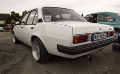 1980 Opel Ascona B 2.0 - IMG_6954-e (Per Sistens) Tags: cars thamsløpet thamsløpet19 orkladal veteranbil veteran opel ascona b