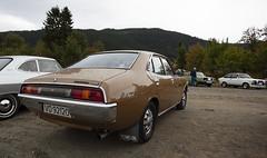 1977 Toyota Corona 2000 Mark II - IMG_6930-e (Per Sistens) Tags: cars thamsløpet thamsløpet19 orkladal veteranbil veteran toyota corona volvo 240 ford escort mkii