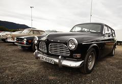 1970 Triumph TR6 PI, 1968 Volvo Amazon Estate B18 - IMG_6926-e (Per Sistens) Tags: cars thamsløpet thamsløpet19 orkladal veteranbil veteran volvo p1800 amazon b18 triumph tr6
