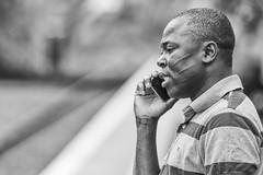 At the train station (Frank Fullard) Tags: frankfullard fullard candid street portrait train railway passanger traveller blanc noir monochrome black white blackandwhite scar castlebar mayo irish ireland