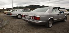 1969 Opel Diplomat B v8, 1973 W116 Mercedes Benz 280 SE, 1982 C126 Mercedes Benz 500 SEC, 1985 C126 Mercedes Benz 500 SEC - IMG_6964-e (Per Sistens) Tags: cars thamsløpet thamsløpet19 orkladal veteranbil veteran mercedes mercedesbenz w116 w126 c126 coupes opel admiral b