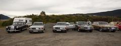 1959 W128 Mercedes Benz 220 S, 1985 C126 Mercedes Benz 500 SEC, 1982 C126 Mercedes Benz 500 SEC, 1973 W116 Mercedes Benz 280 SE, 1969 Opel Diplomat B V8 - IMG_6961-e (Per Sistens) Tags: cars thamsløpet thamsløpet19 orkladal veteranbil veteran mercedes mercedesbenz w128 w126 c126 w116 opel admiral b