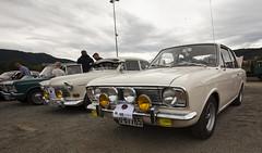 1968 Fiat 125, 1968 Volvo Amazon 121 B18, 1968 Ford Cortina Mk II - IMG_6957-e (Per Sistens) Tags: cars thamsløpet thamsløpet19 orkladal veteranbil veteran fiat volvo amazon 121 b18 ford cortina mkii