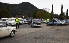 1970 Volvo 142 B20, 1962 W110 Mercedes Benz 190,  1967 W110 Mercedes Benz 200 - IMG_6941-e (Per Sistens) Tags: cars thamsløpet thamsløpet19 orkladal veteranbil veteran mercedes mercedesbenz volvo 140 240 b20 opel kapitän