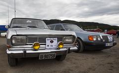 1966 Opel Rekord B 1700 Coupe, 1989 W124 Mercedes Benz 230 TE - IMG_6932-e (Per Sistens) Tags: cars thamsløpet thamsløpet19 orkladal veteranbil veteran opel rekord b mercedes mercedesbenz w124 s124