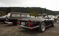1968 Volvo Amazon Estate B18, 1970 Triumph TR6 PI - IMG_6919-e (Per Sistens) Tags: cars thamsløpet thamsløpet19 orkladal veteranbil veteran volvo amazon triumph tr6 cabs