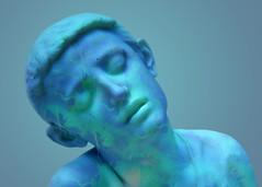 Escultura - Sculpture (COLINA PACO) Tags: sculpture escultura niño child blue bleu azurro azul photomanipulation photoshop fotomanipulación fotomontaje franciscocolina