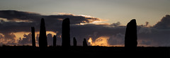 Ring of Brodgar Sunset (captures.in.time) Tags: scotland orkney visitorkney visitscotland scottsmagazine coastline islands northern north kitchenermemorial birds kirkwall stromness orcadian landscape landscapephotography wonderlust lonelyplanet ngc ngm travel travelphotography mainland ring ringofbrodgar brodgar neolithic historicscotland bc old ancient sunset sun peace happy archeology history